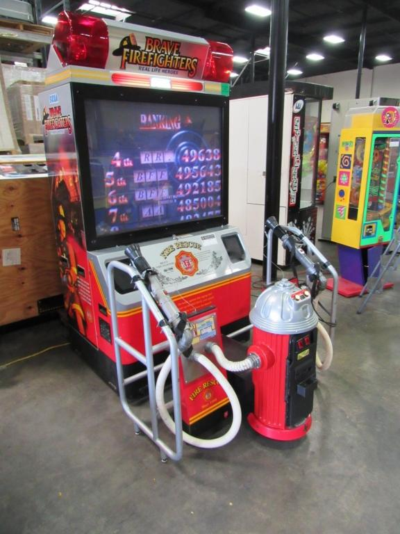 BRAVE FIREFIGHTERS DX 50 ARCADE GAME SEGA