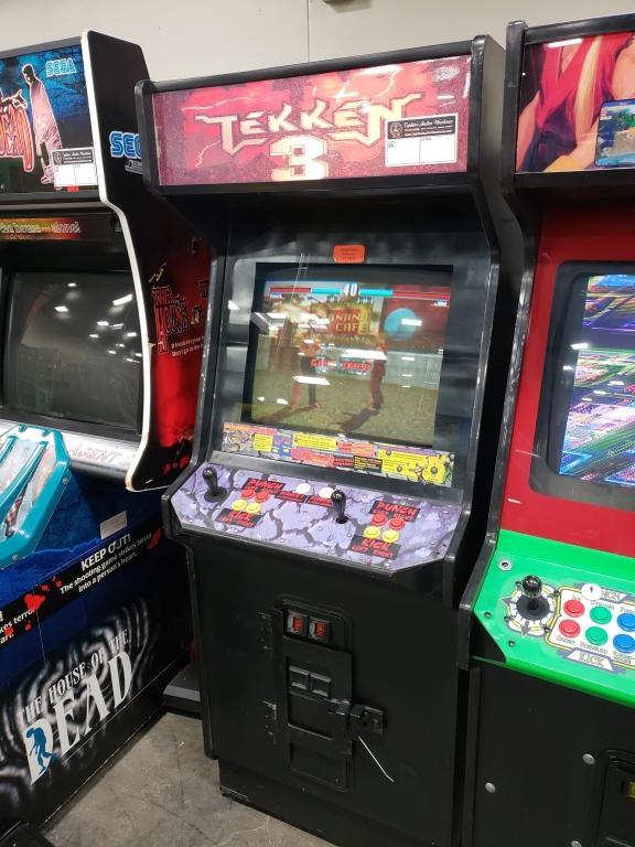 Tekken 3 Upright Fighting Arcade Game Namco