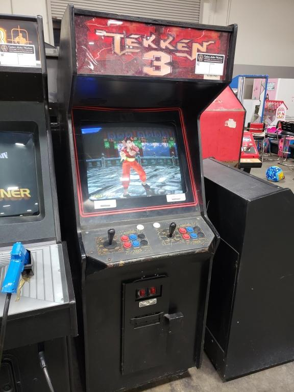 TEKKEN 3 NAMCO FIGHTER UPRIGHT ARCADE GAME