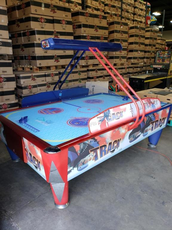 Tremendous Air Hockey Table 4 Player W Overhead Score I C E Interior Design Ideas Tzicisoteloinfo