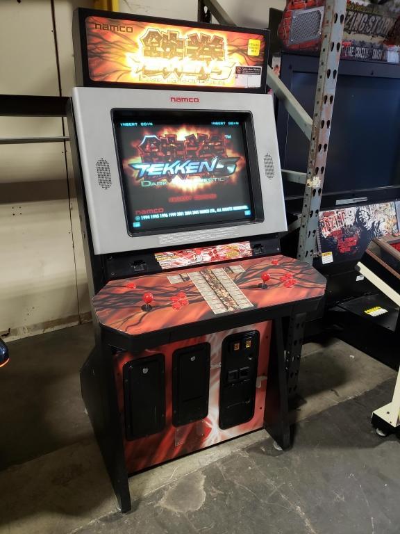 Tekken 5 Dark Resurrection Dedicated Arcade