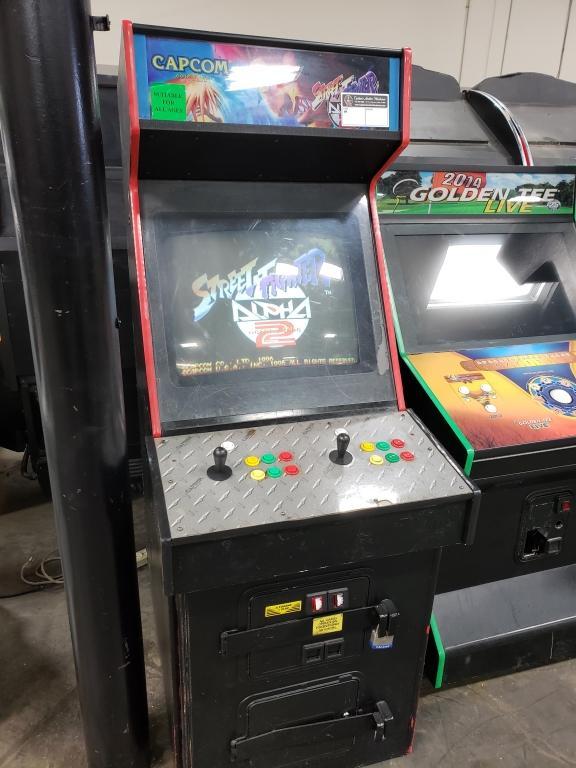 Streetfighter Alpha 2 Upright Arcade Game Capcom