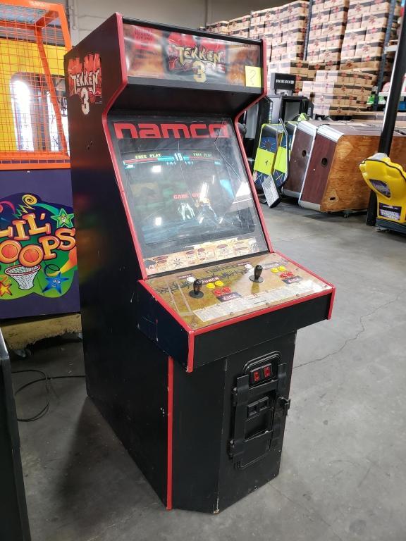 Tekken 3 Upright Fighter Arcade Game Namco