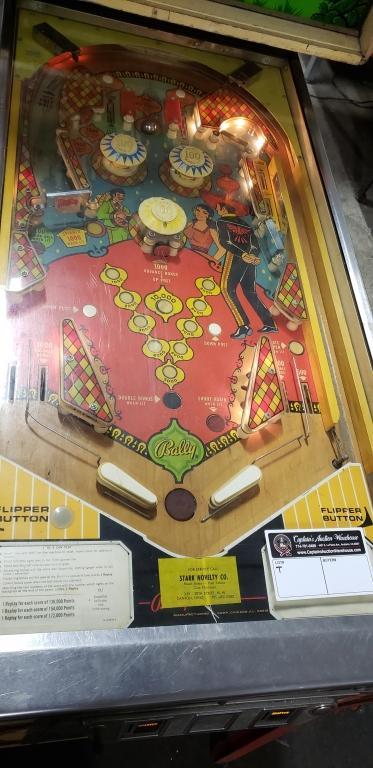 new list online shop best value AMIGO PINBALL MACHINE BALLY 1974 CLASSIC PROJECT