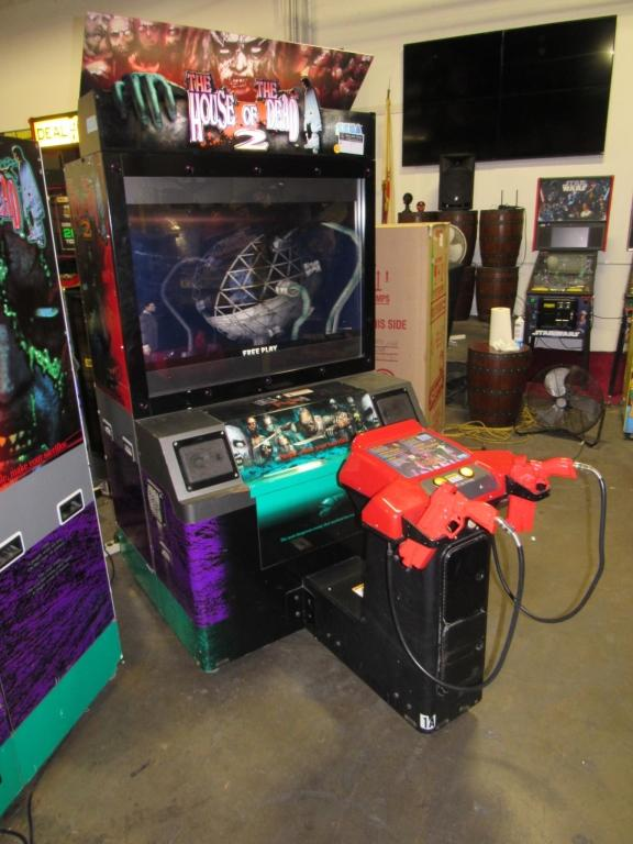 The House Of The Dead 2 Dx 50 Lcd Arcade Game 2