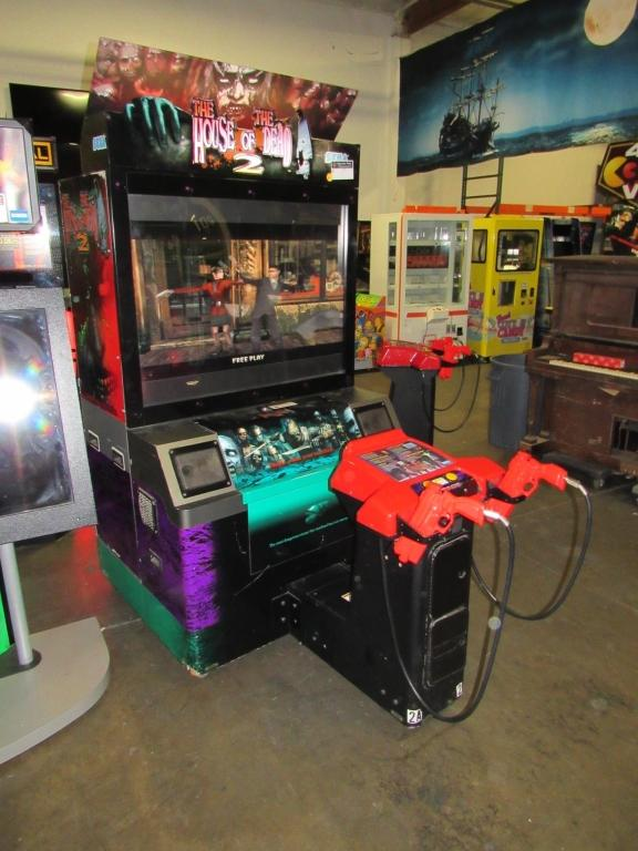 The House Of The Dead 2 Dx 50 Lcd Arcade Game 1