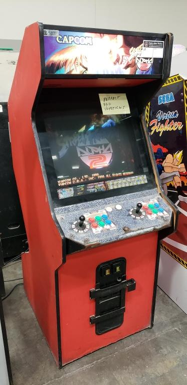 Street Fighter Alpha 2 Upright Arcade Game