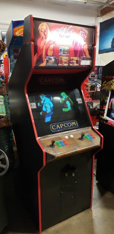 Streetfighter Alpha 2 Capcom Arcade Game