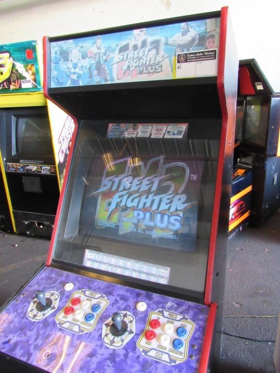 Street Fighter Ex2 Plus Upright Arcade Game Capcom