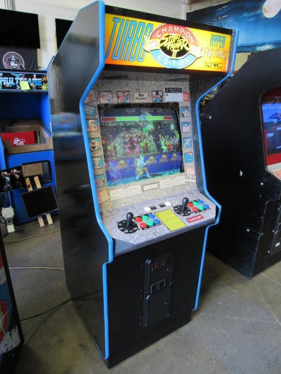 street fighter 2 turbo arcade machine