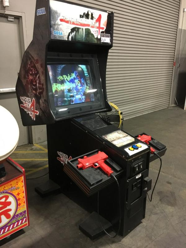 The House Of The Dead 4 Zombie Shooter Arcade Game
