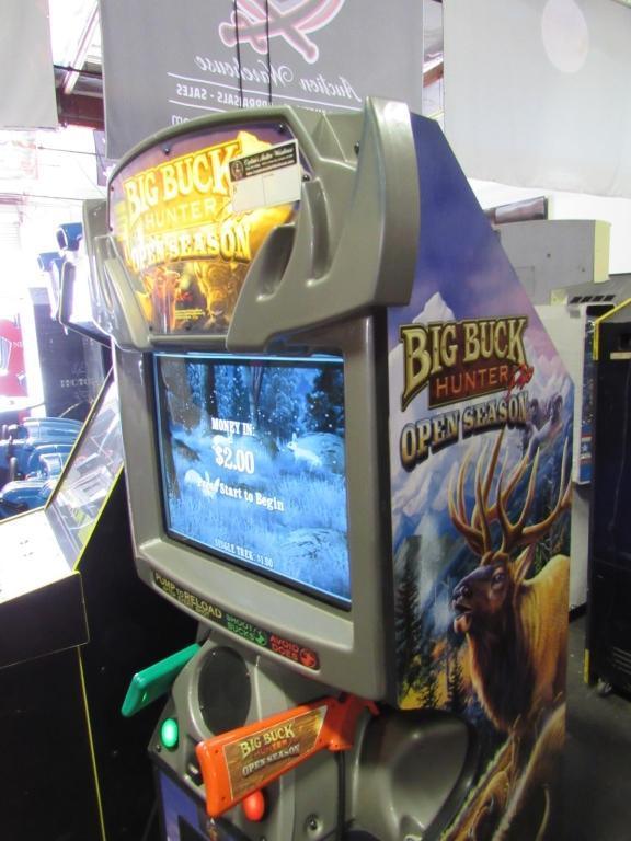 BIG BUCK OPEN SEASON ARCADE GAME RAW THRILLS