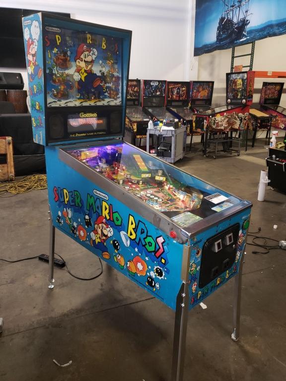 Super Mario Bros Pinball Machine Gottlieb