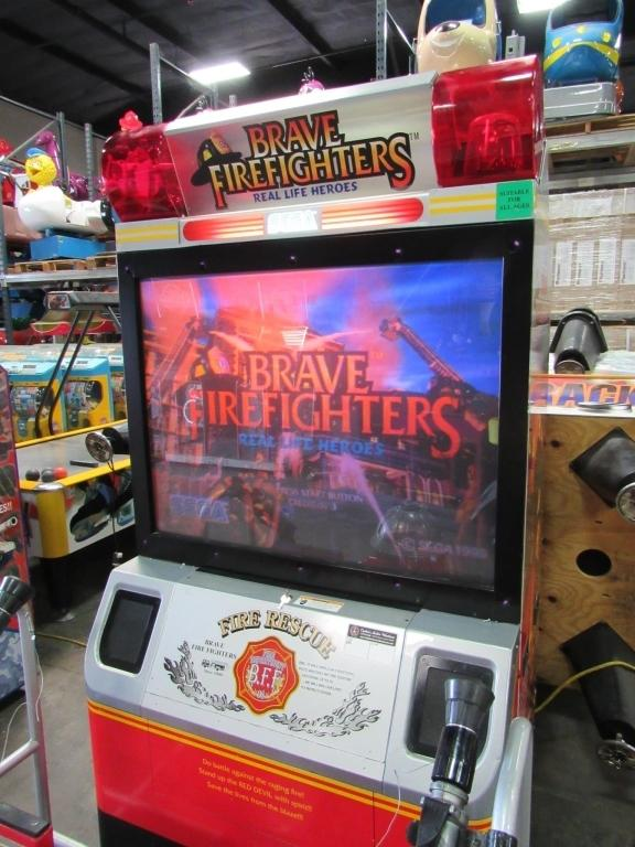brave firefighters arcade game