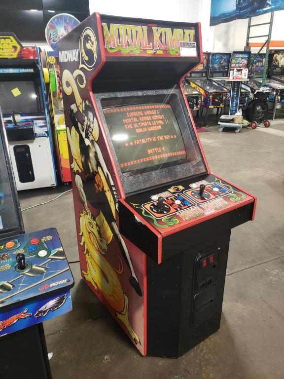 MORTAL KOMBAT MIDWAY DEDICATED ARCADE GAME