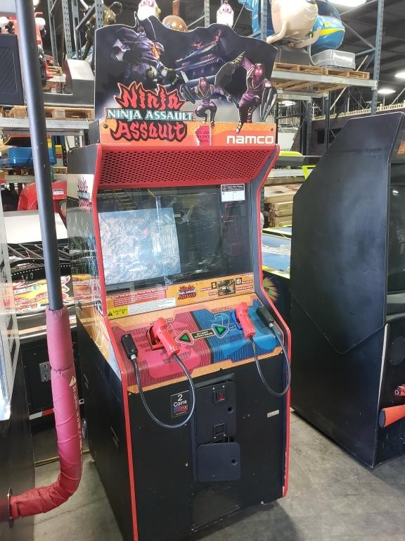 Ninja Assault Dedicated Namco Arcade Game